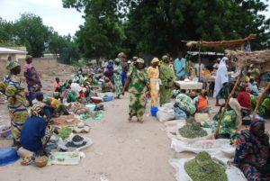 Markt in Kamerun