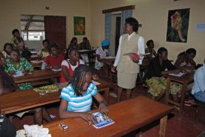 Unterricht im Klassenzimmer