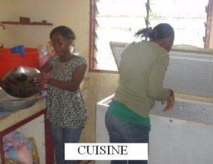 Arbeit in der Küche