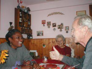 Patience Mollè Lobè zu Besuch in Deutschland