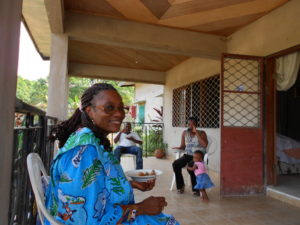 Patience Mollè Lobè in Bomono